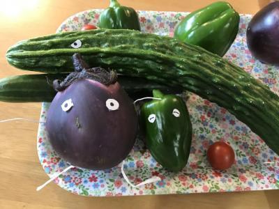 【夏野菜収穫】きゅうりの酢の物作り