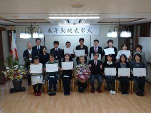 【祝】永年勤続表彰式