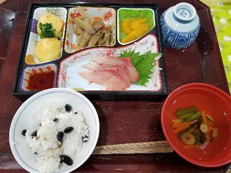 【1月】美味しい食事で温泉旅行