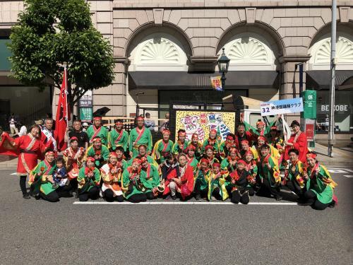 【踊踊クラブ】神戸まつり2018に参加しました!