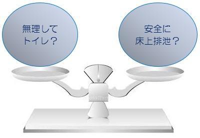 【トイレでの排泄が継続できました!!】