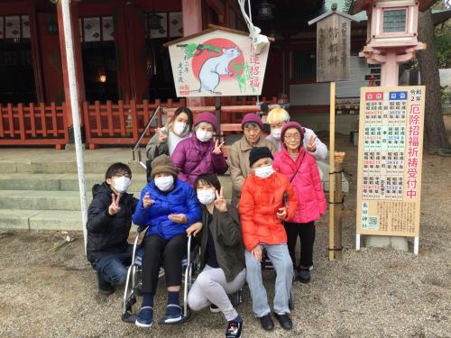初詣in長田神社