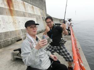 第一回神港園釣り釣り倶楽部~ベラ編~