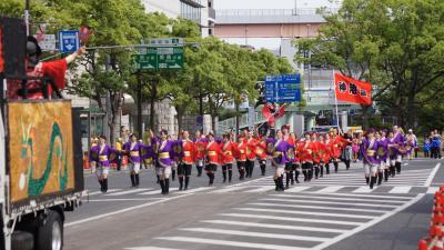 【神港園踊踊クラブ】神戸まつりパレード参加!