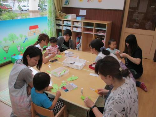 【6月】親子で参加!リトミック教室&親子給食会☆